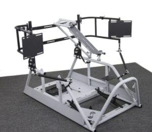 APEX0 SimRacing Rig Setup Cockpit for Racing Simulation