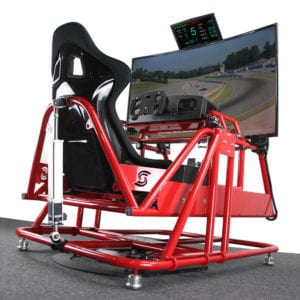 Professional Racing Simulator, APEX2 CT Motion Simulator, Realistic Yaw and Pitch