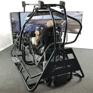 Complete, Ready to Assemble APEX3 3DOF Yaw, Pitch, Roll Racing Simulator