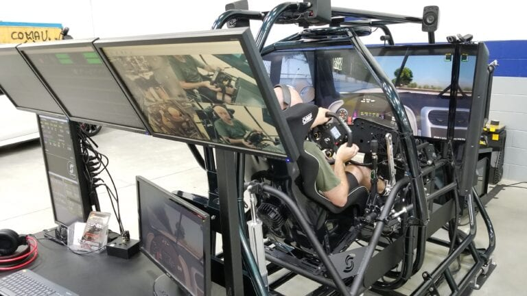 Racing Simulator, Professional Racing simulator, telemetry, coaching station