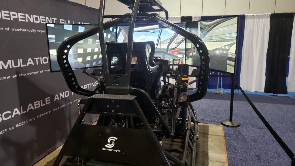 Full Motion Racing Simulator
