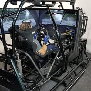 Complete Professional Racing Simulator, APEX3 Pro 3DOF Yaw, Pitch, Roll