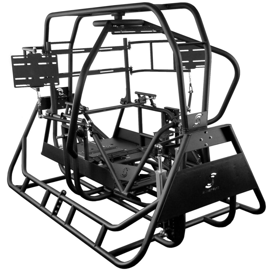 3dof racing simulator, roll, pitch, yaw motion simulator