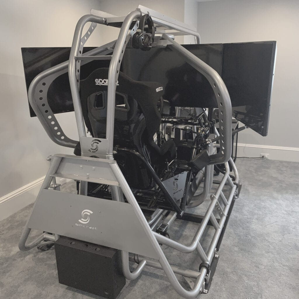 APEX5, 5dof racing simulator