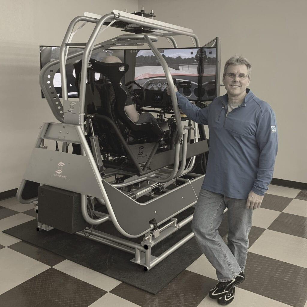 6dof racing simulator