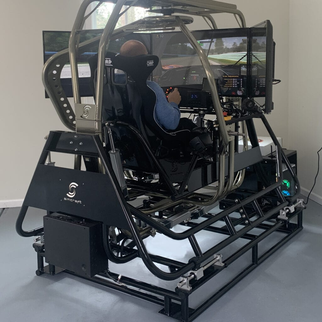 APEX6 Independent Full Motion Professional Racing Simulator