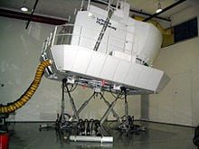 Full Motion Flight Simulator