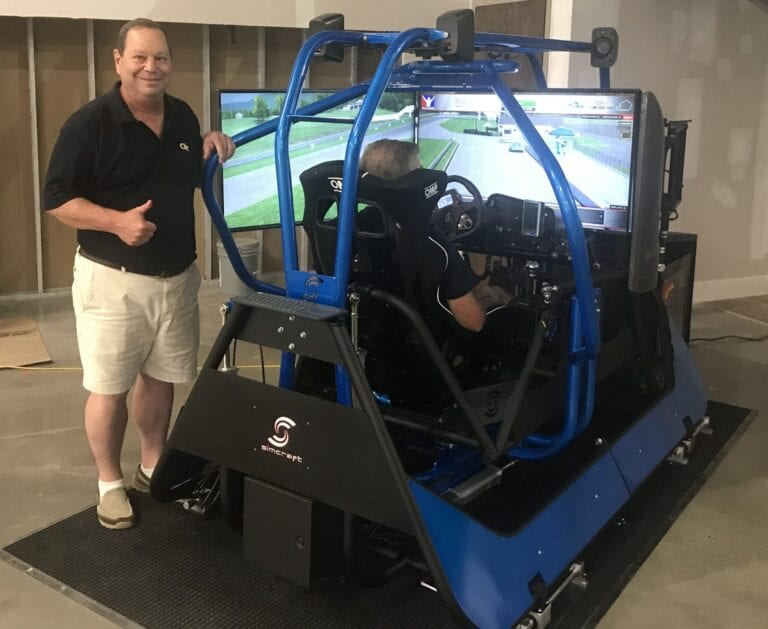 APEX4 GTS, Professional Racing Simulator