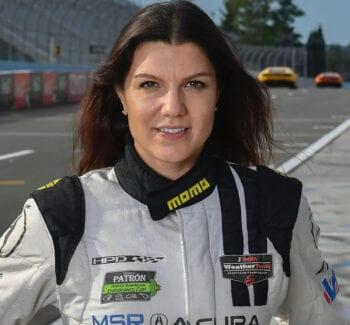 Katherine Legge, pro driver