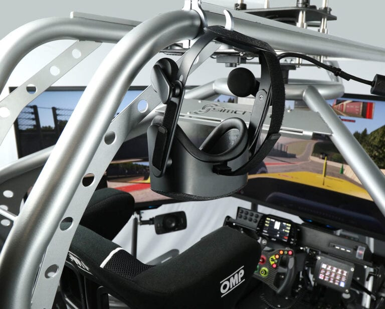 SimCraft APEX Pro Racing Simulator Closeup