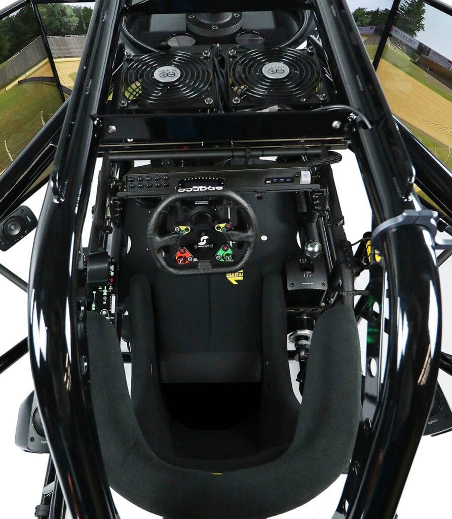 SimCraft APEX5 5DOF Pro Racing Simulator_overhead