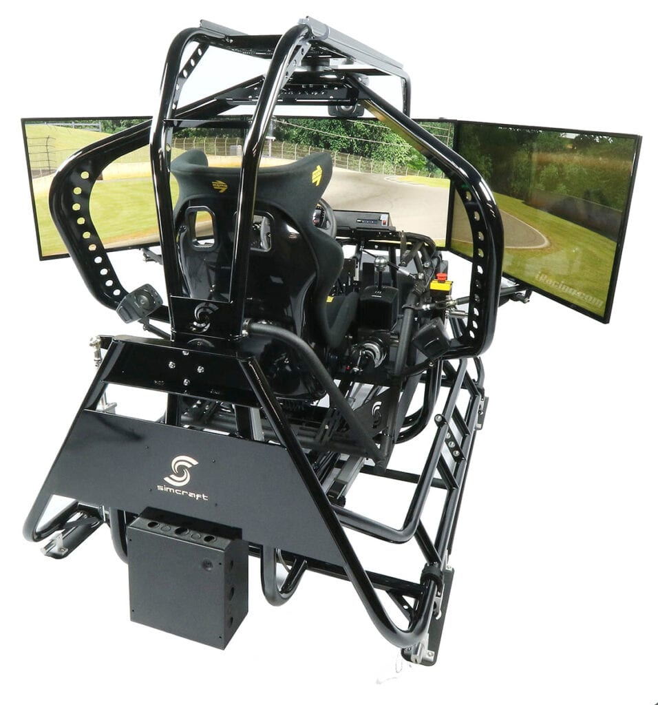 SimCraft APEX5 5DOF Professional Racing Motion Simulator_hero2