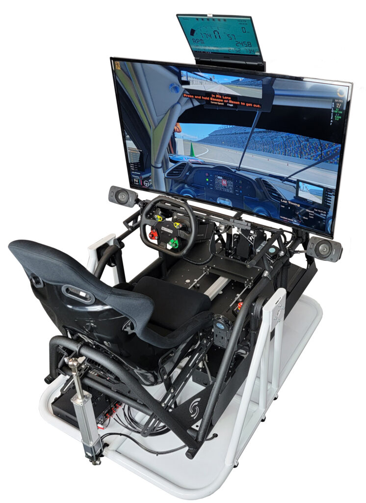 APEX2 CT Motion Racing Simulator, Yaw and Pitch