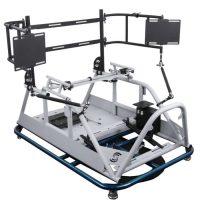 SimRacing motion simulator, understeer oversteer yaw motion simulation
