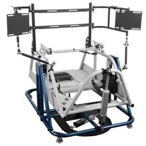2dof racing simulator, pitch, yaw motion simulator