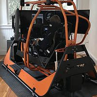 Professional Racing Simulator, 4dof motion simulator